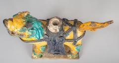 Chinese Sancai Glazed Ceramic Guardian Lion - 976228