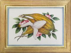 Chinese School Group of Eight Exotic Fruits on Pith Paper - 1958240