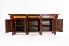 Chinese Sideboard with Three Drawers and Three Doors - 1224833