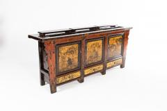 Chinese Sideboard with Three Drawers and Three Doors - 1226094
