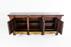Chinese Sideboard with Three Drawers and Three Doors - 1226095