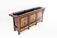 Chinese Sideboard with Three Drawers and Three Doors - 1226097