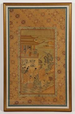 Chinese Silk Woven Panel - 1621888