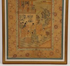 Chinese Silk Woven Panel - 1621890