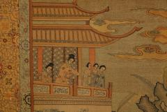 Chinese Silk Woven Panel - 1621891