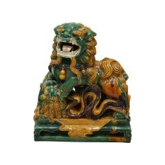 Chinese XIX Century Pair of Protection Foo Lions - 2051068