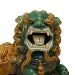 Chinese XIX Century Pair of Protection Foo Lions - 2051070