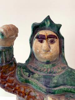 Chinese ceramic Glazed Guardian Ming Dynasty - 1510103