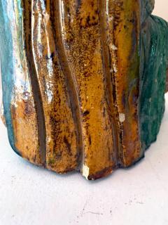 Chinese ceramic Glazed Guardian Ming Dynasty - 1510108