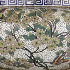 Chinese cloisonn enamel and French gilt bronze jardini re - 1274542