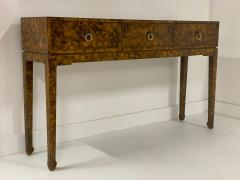 Chinoiserie Lacquered Finish Console - 1183089