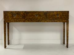 Chinoiserie Lacquered Finish Console - 1183090