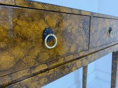 Chinoiserie Lacquered Finish Console - 1183091