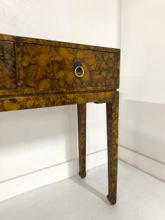 Chinoiserie Lacquered Finish Console - 1183093