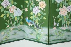 Chinoiserie Six Panel Hand Decorated Screen - 1176754