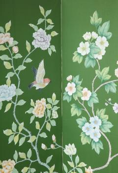 Chinoiserie Six Panel Hand Decorated Screen - 1176757