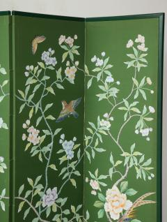 Chinoiserie Six Panel Hand Decorated Screen - 1176759
