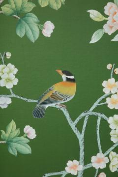Chinoiserie Six Panel Hand Decorated Screen - 1176762