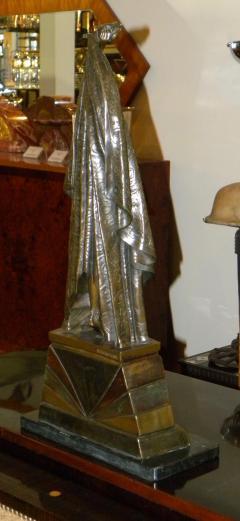 "Chiparus ""Antinea"" Egyptian Art Deco Bronze Statue Large"
