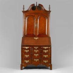 Chippendale Blocked Front Secretary - 114489