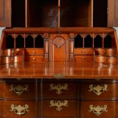 Chippendale Blocked Front Secretary - 114490