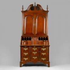 Chippendale Blocked Front Secretary - 114491