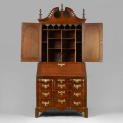 Chippendale Blocked Front Secretary - 114492