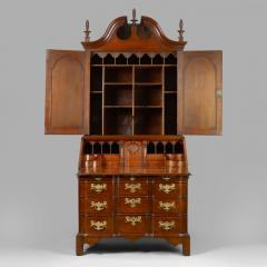 Chippendale Blocked Front Secretary - 114494