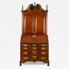 Chippendale Blocked Front Secretary - 115474