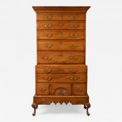 Chippendale Chest on Chest on Frame - 149532