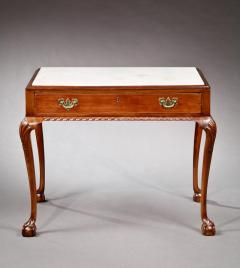 Chippendale Marble Top Mixing Table - 191046