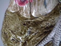 Choisy le Roi Choisy Majolica Rooster Cockerel Vase by Paul Comolera - 1755155