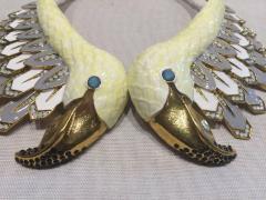 Christian Lacroix Christian Lacroix Swan Runway Necklace - 504795