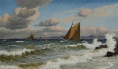 Christian Vigilius Blache Seascape by Christian Vigilius Blache - 1891416