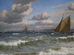 Christian Vigilius Blache Seascape by Christian Vigilius Blache - 1891423