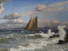 Christian Vigilius Blache Seascape by Christian Vigilius Blache - 1891424
