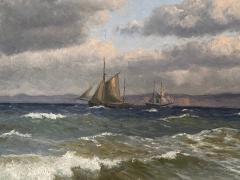 Christian Vigilius Blache Seascape by Christian Vigilius Blache - 1891425