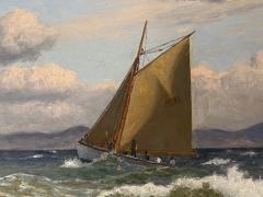 Christian Vigilius Blache Seascape by Christian Vigilius Blache - 1891427