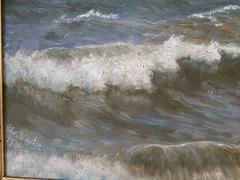 Christian Vigilius Blache Seascape by Christian Vigilius Blache - 1891428