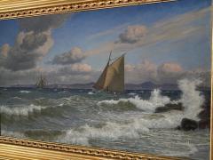 Christian Vigilius Blache Seascape by Christian Vigilius Blache - 1891433