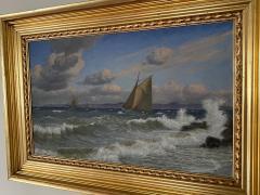 Christian Vigilius Blache Seascape by Christian Vigilius Blache - 1891435