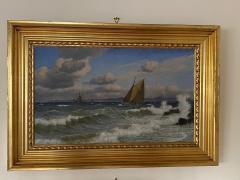 Christian Vigilius Blache Seascape by Christian Vigilius Blache - 1891436