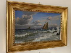 Christian Vigilius Blache Seascape by Christian Vigilius Blache - 1891437