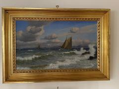Christian Vigilius Blache Seascape by Christian Vigilius Blache - 1891438