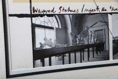 Christo Wrapped Statues Silkscreen Photo Collage circa 1988 - 364642