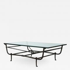 Christopher Chodoff Bronze Giacometti Style Etruscan Coffee Table Attrb Christopher Chodoff - 1318781