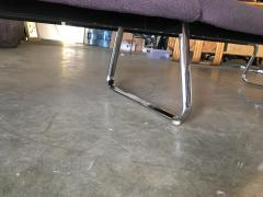 Chrome Modernist Waiting Room Airport Bench Circa 1970s - 1348193