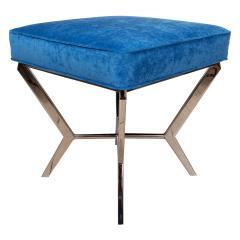 Chrome modernist bench - 1306469