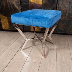Chrome modernist bench - 1306470