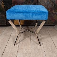 Chrome modernist bench - 1306471